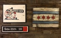 Chicago White Sox WWII Sign