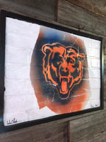 Chicago Bears Graffiti