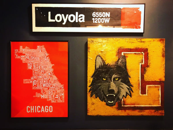 Loyola Red Line CTA Sign