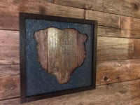 Wooden Chicago Bears Sign