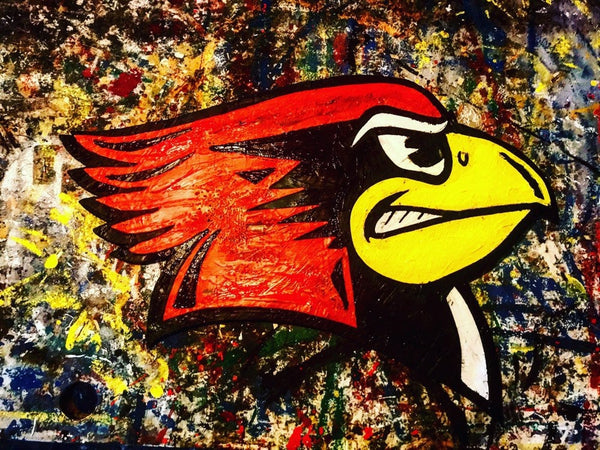 Illinois State University Redbirds Sign