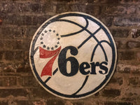 Philadelphia 76ers, 76ers Basketball, Philadelphia, Philadelphia Pennsylvania , Pennsylvania , 76ers, 76ers Sign, Wooden Signs
