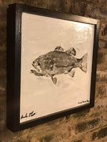 Large Mouth Bass Graffiti