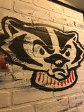 Wisconsin Badgers Graffiti
