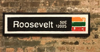 Roosevelt Red Line CTA Sign