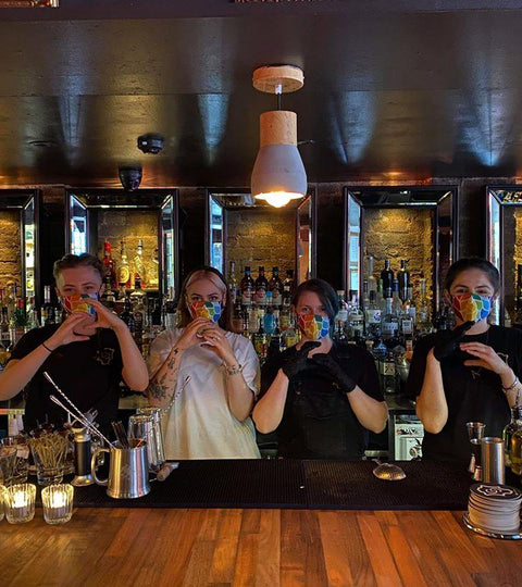 Cocktail Critters Donates 1,000 Masks to UK Bars!