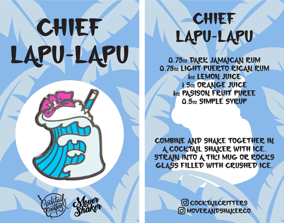 Chief Lapu-Lapu Hard Enamel Pin