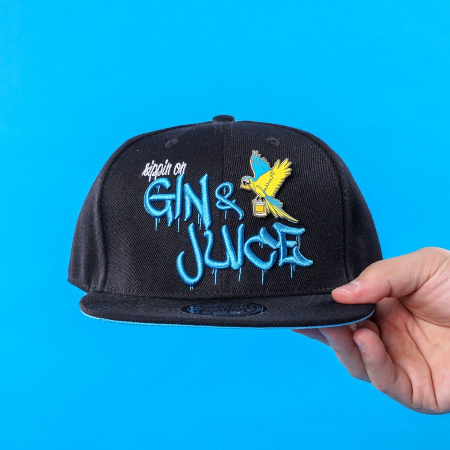 Gin n' Juice Hat & Hard Enamel Pin
