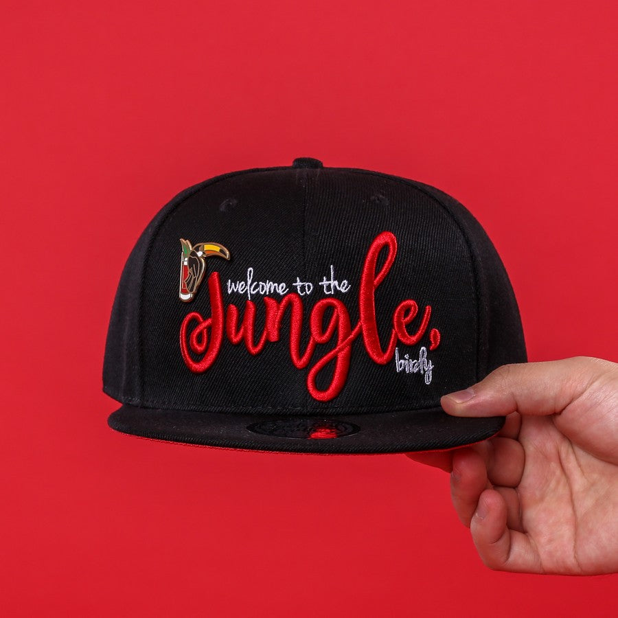 Jungle Bird Hat & Hard Enamel Pin