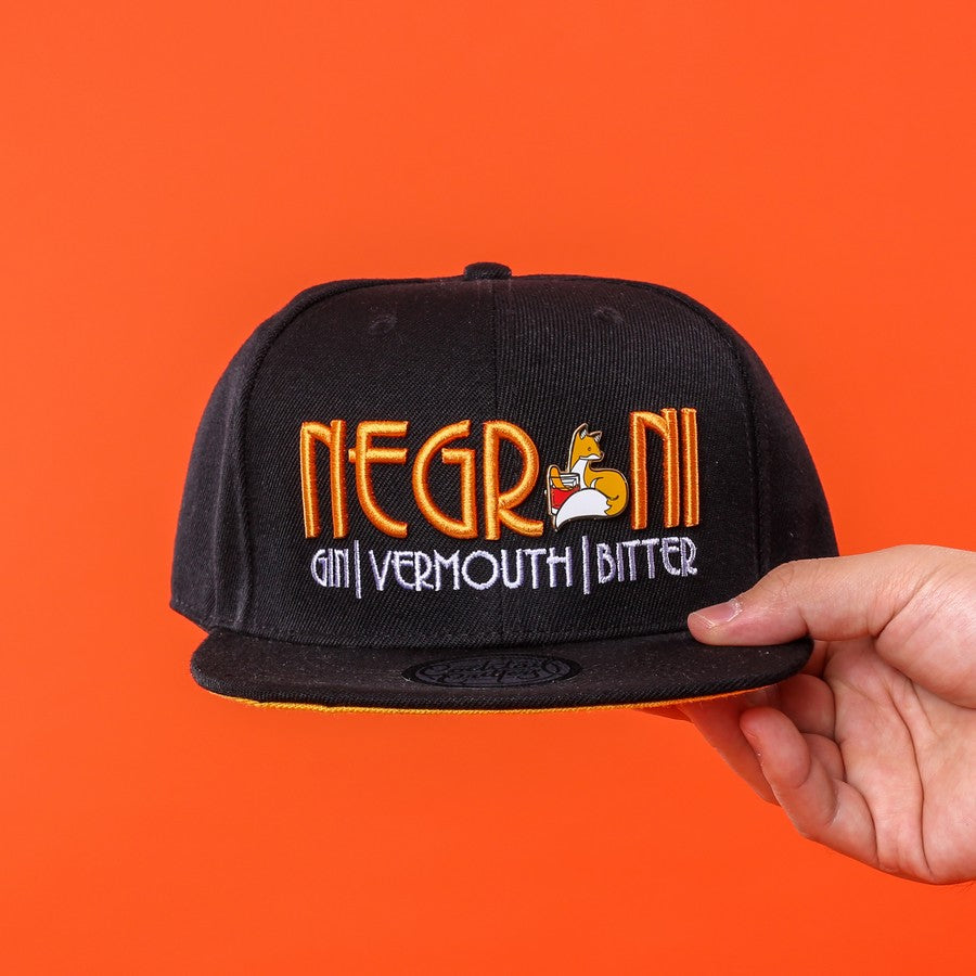 Negroni Hat & Hard Enamel Pin