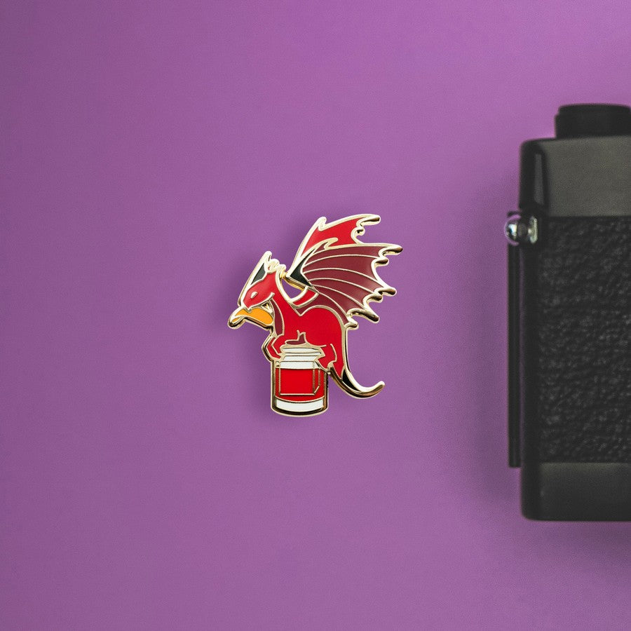 Dragon x Negroni Hard Enamel Pin