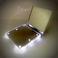 Load image into Gallery viewer, 6-LED White Makeup Mirror