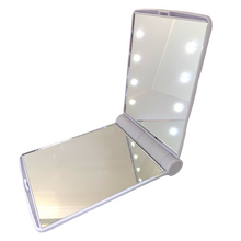 Load image into Gallery viewer, 8-LED White makeup mirror
