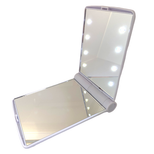 8-LED White makeup mirror