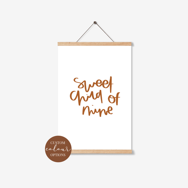 'Sweet Child Of Mine' Print