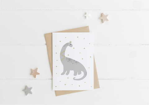 Dinosaur Card & Envelope