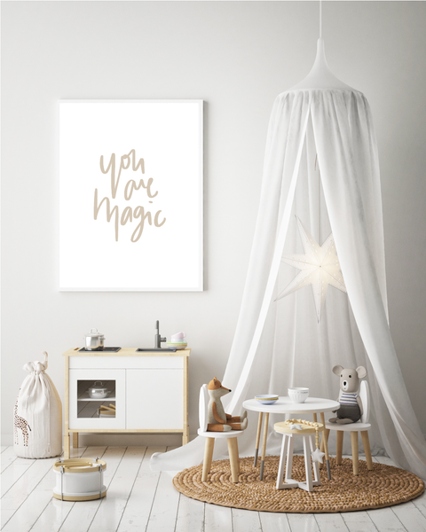 'You Are Magic' Print
