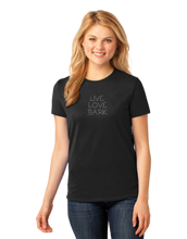Load image into Gallery viewer, T-shirt: Live Love Bark (Womens)