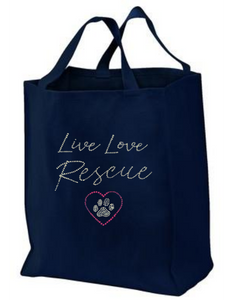 Tote: Live Love Rescue