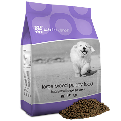 Life's Abundance: Large Breed Puppy Food
