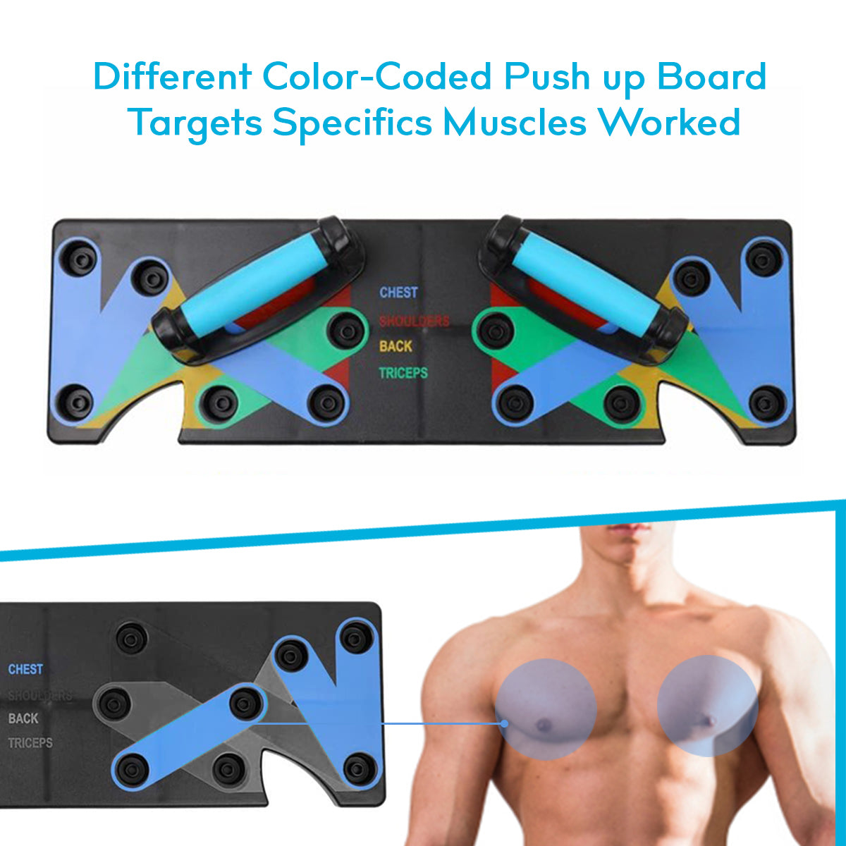 MULTI-FUNCTION PUSH UP BOARD - PushUpNity