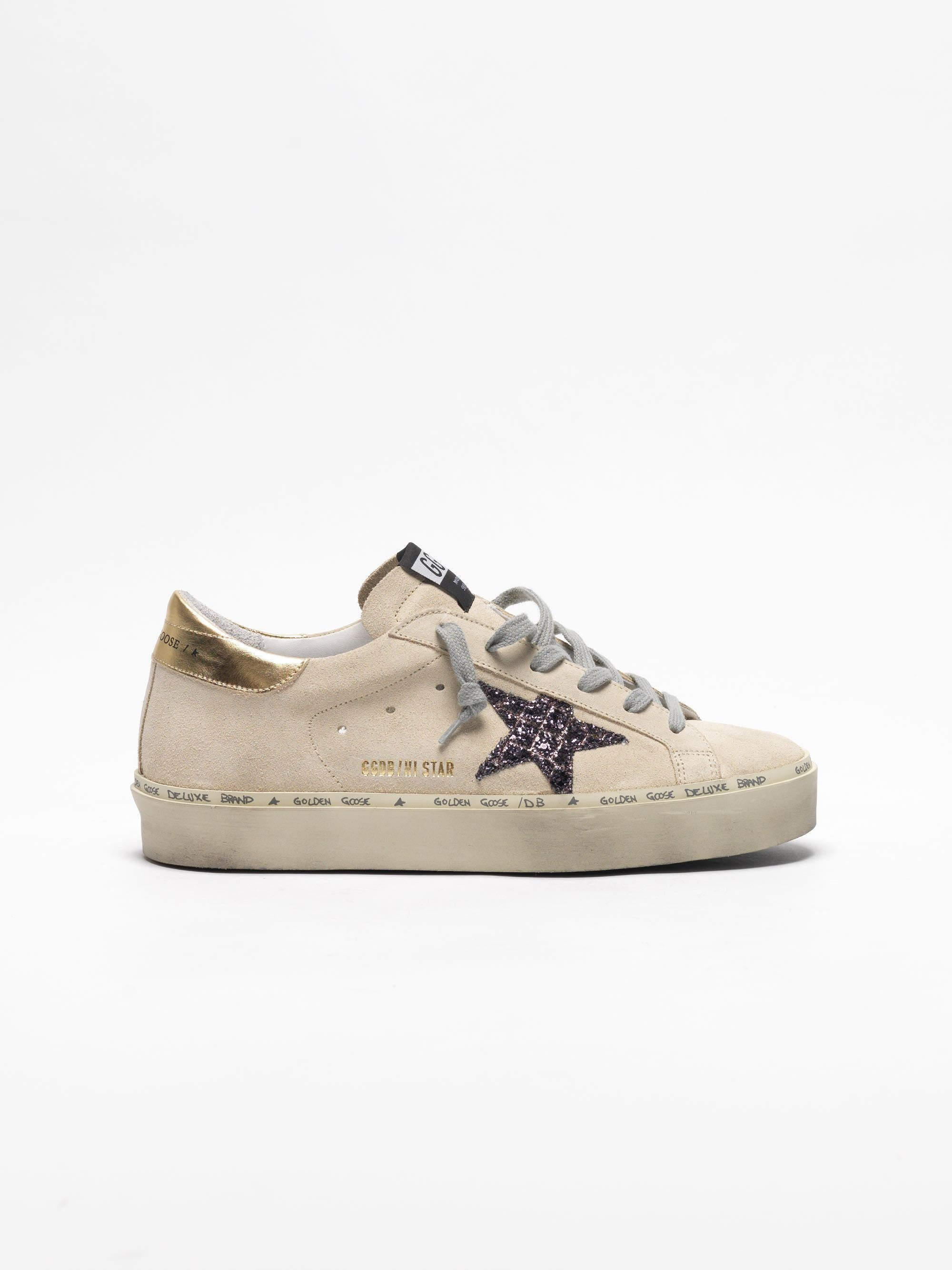 Golden Goose Pearl Suede Coco Glitter