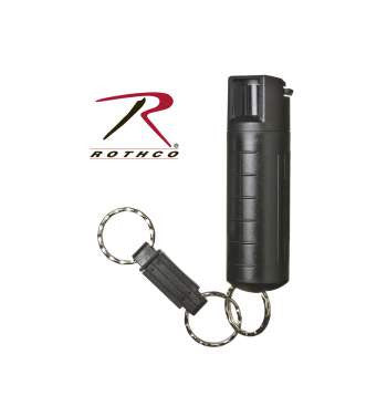 3 In 1 Pepper Spray w/ Plastic Case - Delta Survivalist