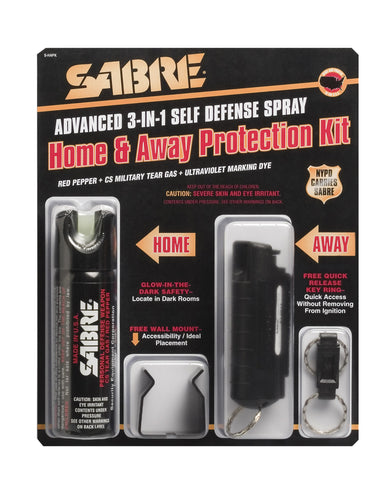 Sabre 3 In 1 Home & Away Kit - Delta Survivalist