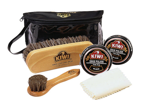 Kiwi Military Shoe Care Kit - Delta Survivalist