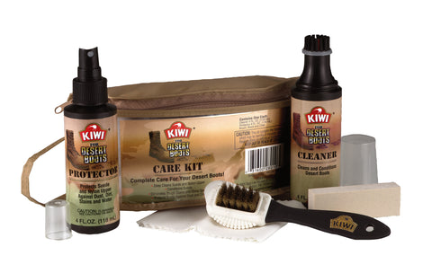 Kiwi Desert Boot Care Kit - Delta Survivalist