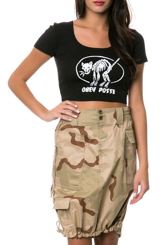 Womens Knee Length Skirt - Delta Survivalist