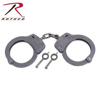 Nickel Handcuffs - Delta Survivalist