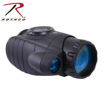 3.5 X 42 Day/Night Vision Monocular - Delta Survivalist