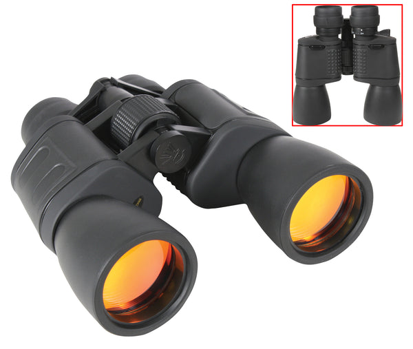 8-24 x 50MM Zoom Binocular - Black
