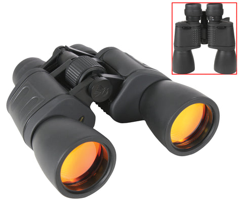 8-24 x 50MM Zoom Binocular - Black - Delta Survivalist