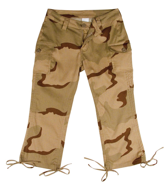 Womens Camo Capri Pants - Delta Survivalist