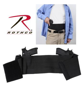 Ambidextrous Concealed Elastic Belly Band Holster - Delta Survivalist