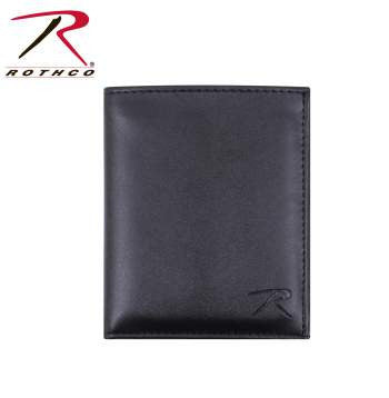 Leather ID & Badge Wallet - Delta Survivalist