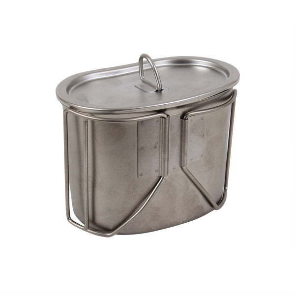Stainless Steel Canteen Cup Lid - Delta Survivalist
