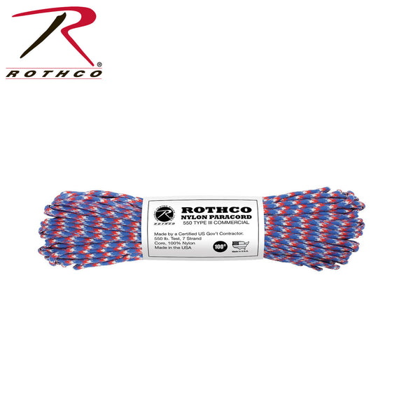 Nylon Camo Paracord - Delta Survivalist