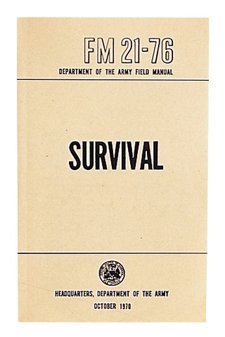 Survival Manual - Delta Survivalist