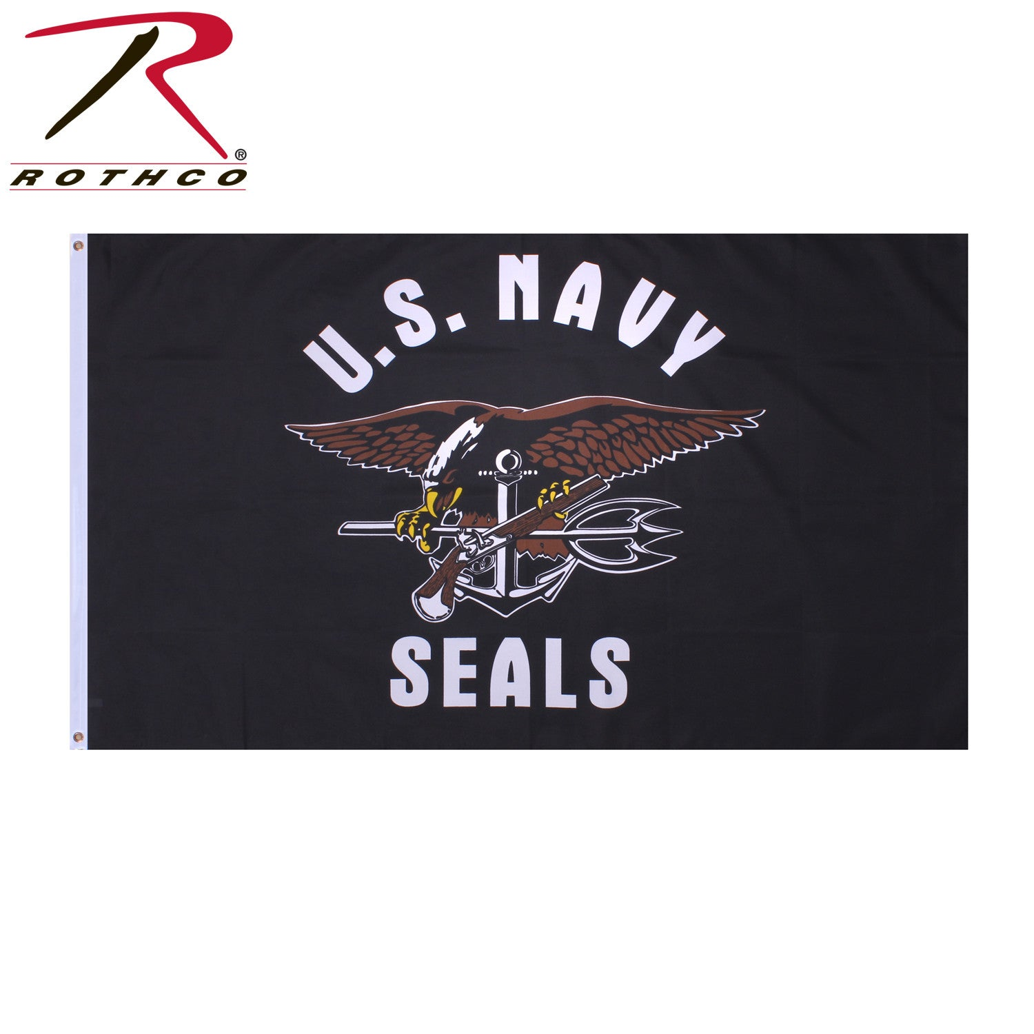 US NAVY 3X5/' NYLON FLAG MADE IN THE USA OFFICIALLY LICENSED NEW