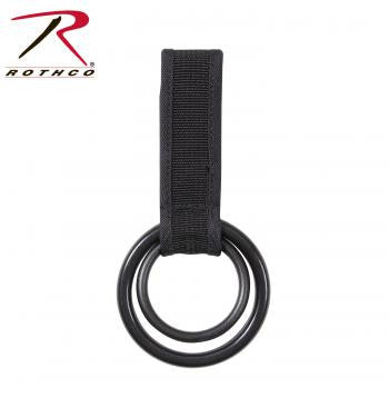 Two Ring Baton and Flashlight Holder - Delta Survivalist