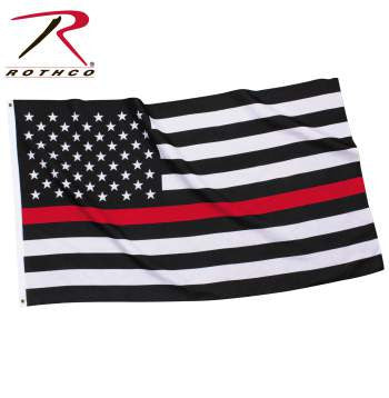 Thin Red Line US Flag - Delta Survivalist