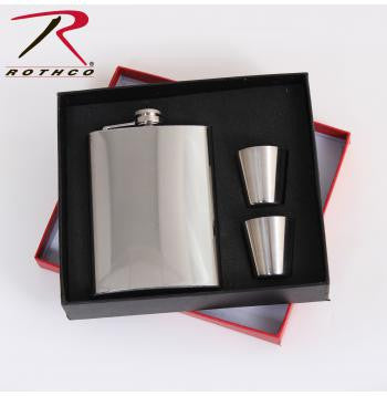 Stainless Steel Flask Gift Set - Delta Survivalist