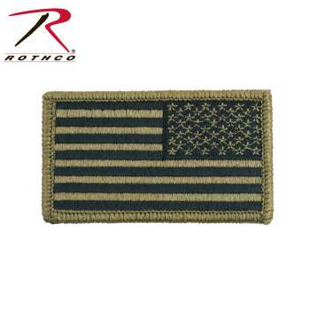 OCP American Flag Patch With Hook Back - Delta Survivalist