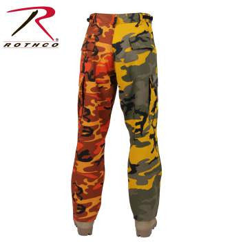 Two-Tone Camo BDU Pants