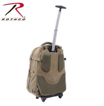 Rolling Canvas Backpack - Delta Survivalist