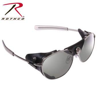 Tactical Aviator Sunglasses With Wind Guards - Delta Survivalist
