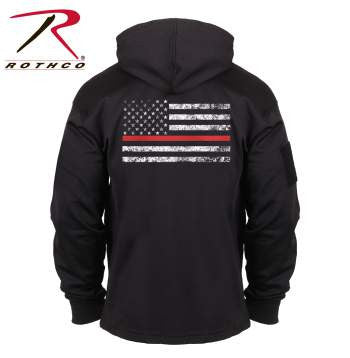 Thin Red Line Concealed Carry Hoodie - Delta Survivalist